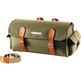 Brooks Glennbrook Saddle Holdall Bolsa bicicleta, green/honey